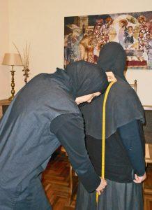 Радионица за шивење православног манастира Ковиље 2